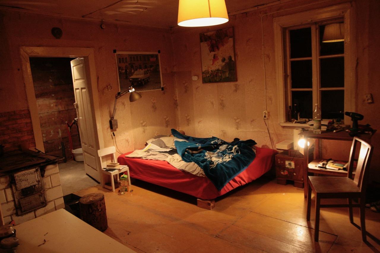 sypialnia barłóg