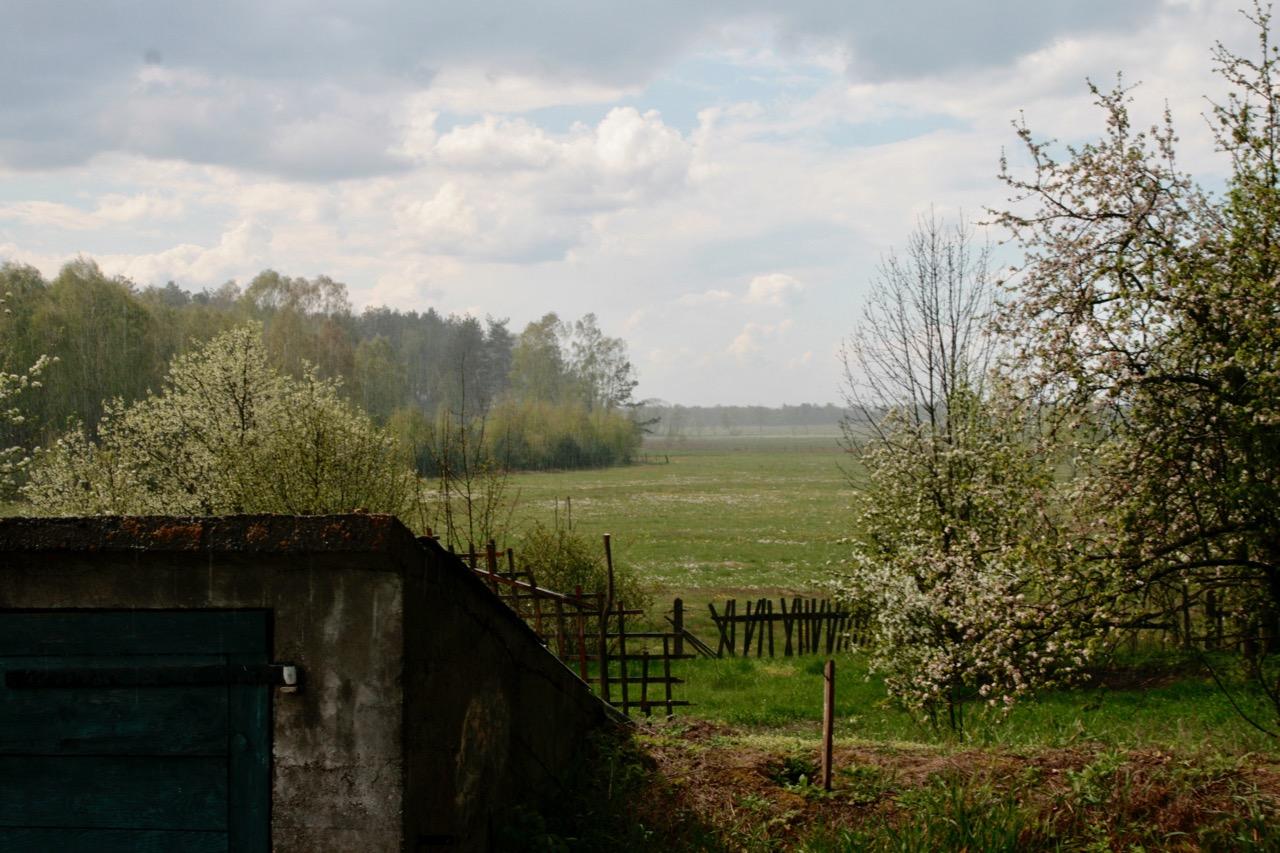 pogoda wieś burza słońce