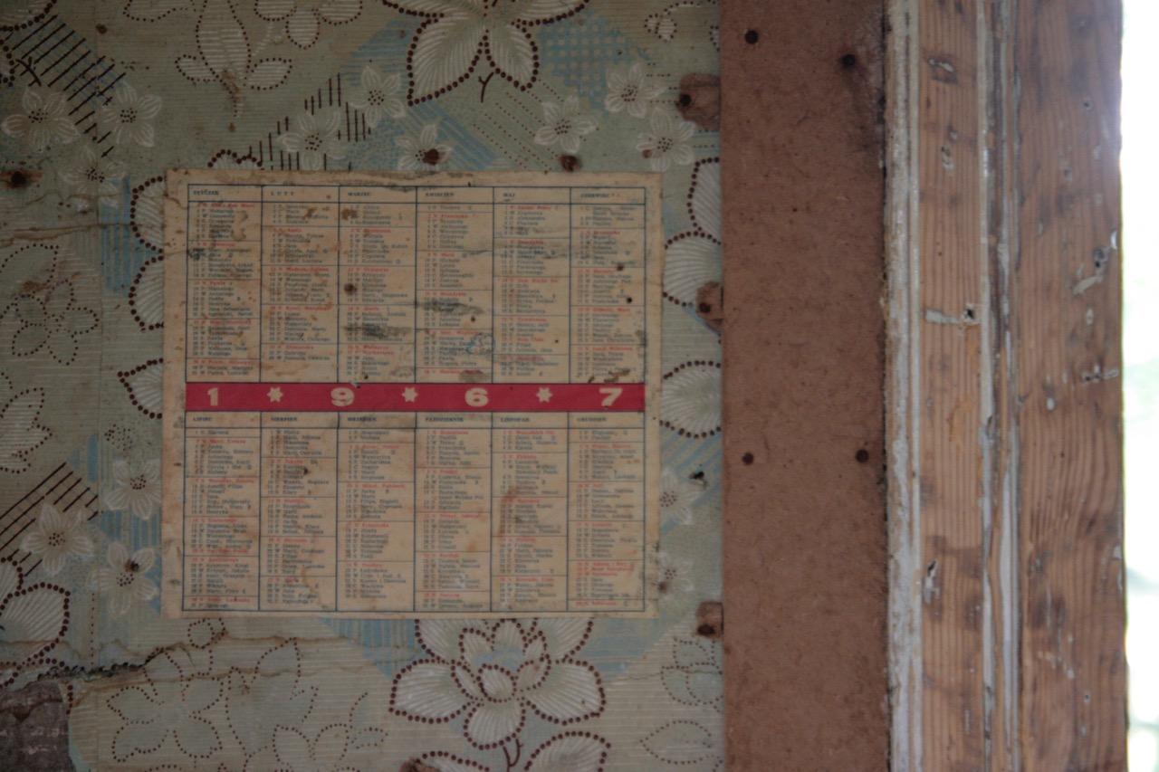 kalendarz 1967
