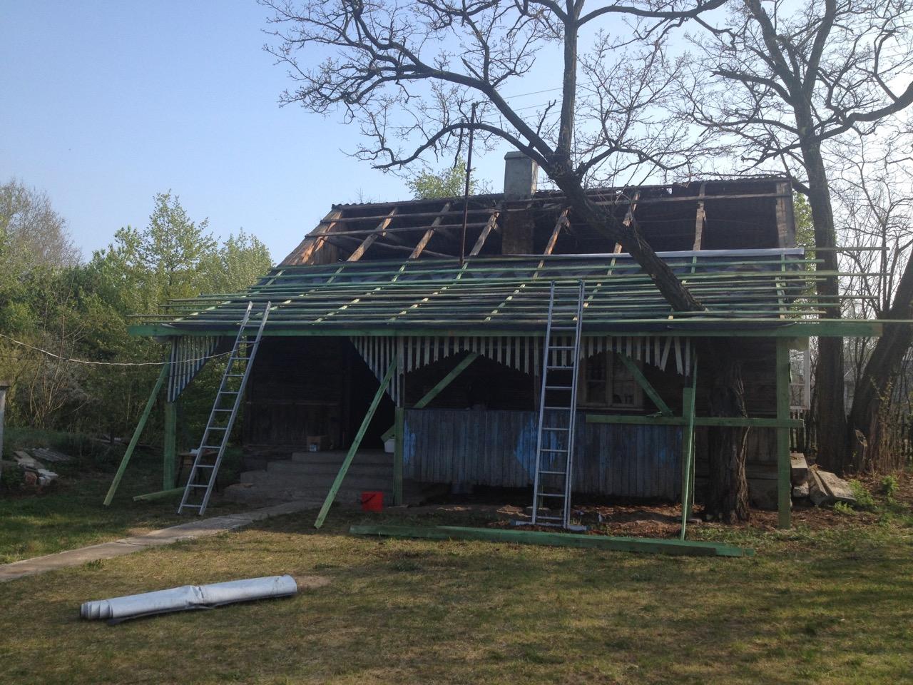 remont dachu na starej chałupie